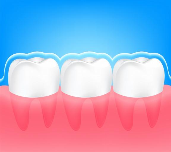 お子さんの歯を強く